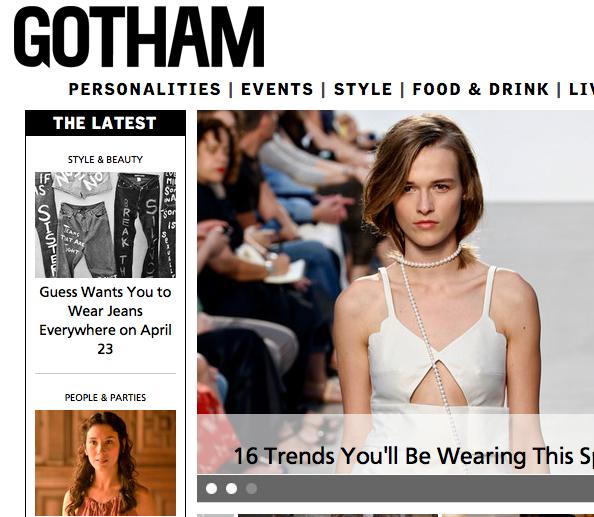 Gotham-Magazine screenshot