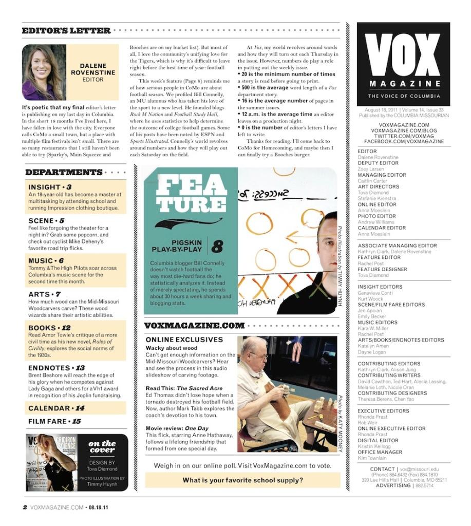 Vox editors inc